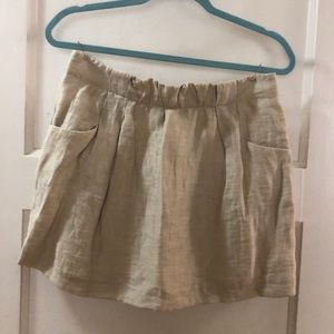 J. Crew Tan Skirt Size 4